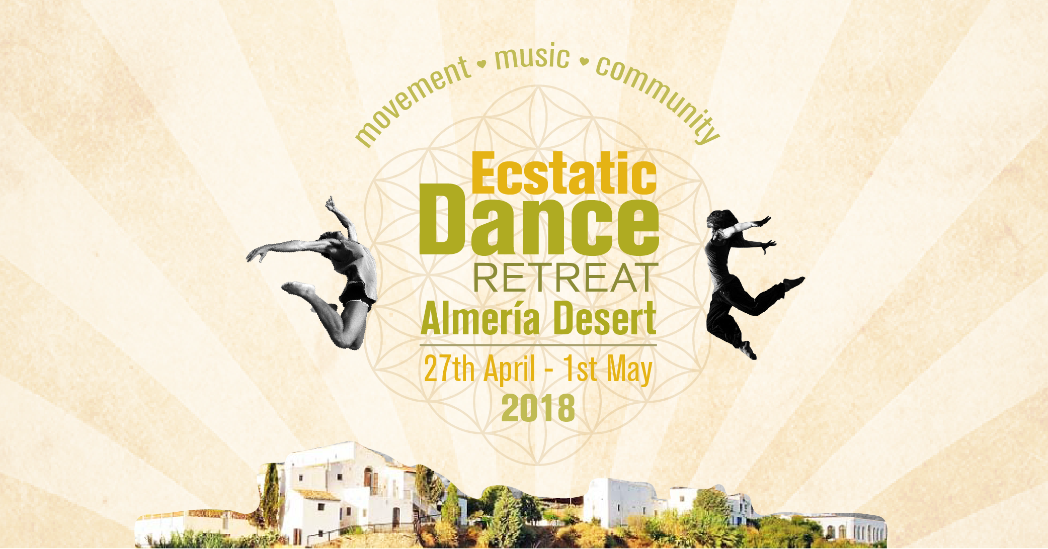ECSTATIC DANCE RETREAT ALMERIA 2019